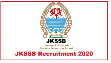 Photo of JKSSB Recruitment 2020 – Total 8575 Vacancies Apply Now – Notification, Eligibility, Selection Process