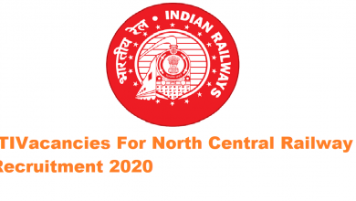 Photo of North Central Railway Recruitment 2020: Apprentice 196 Vacancies for ITI Apply Now
