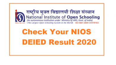 Photo of NIOS Result 2020: Check Your 12th NIOS Result Now at dled.nios.ac.in