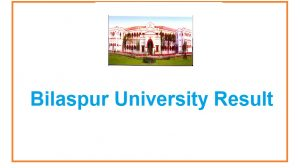 Bilaspur University 1