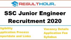 ResultHour SSC Junior Engineer